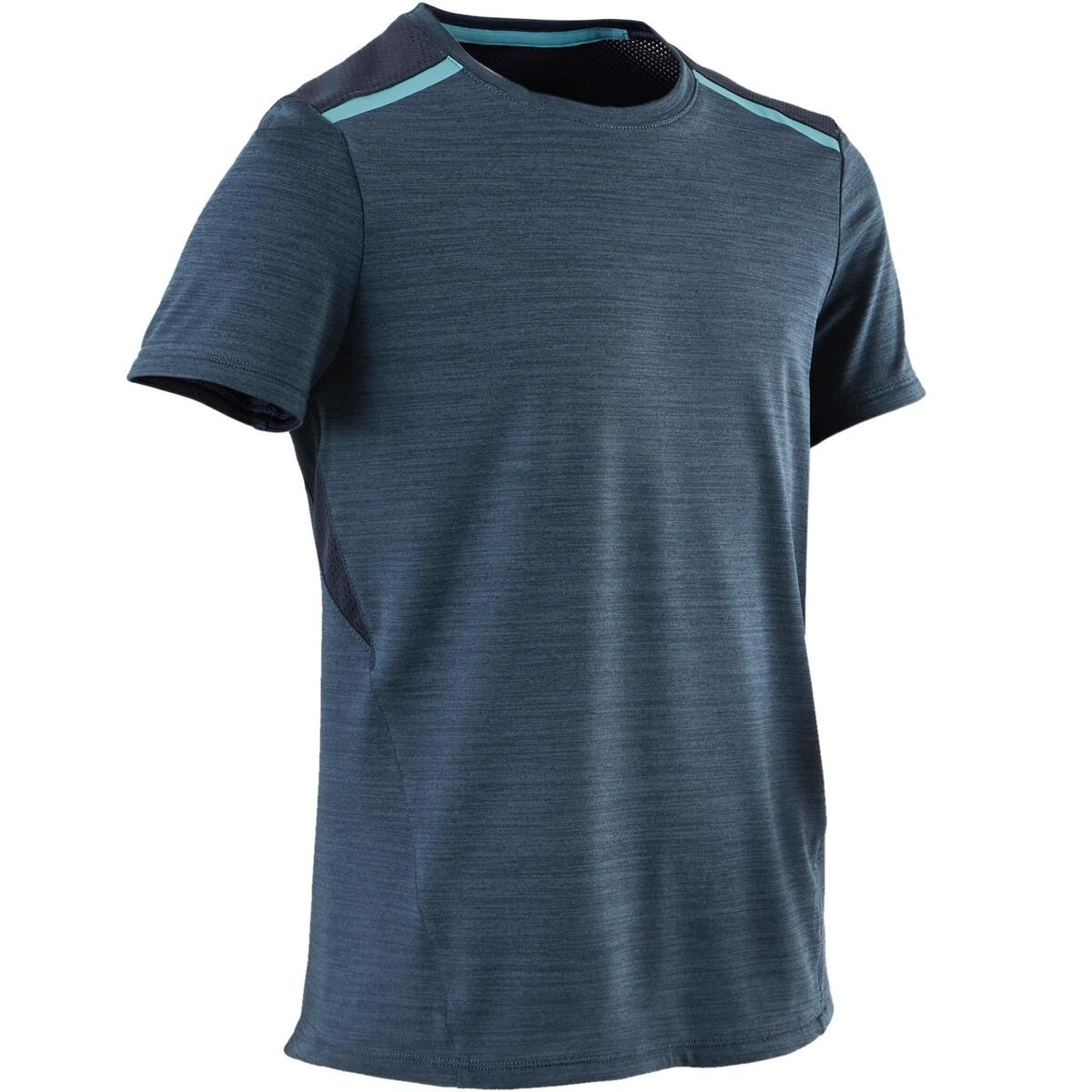 Bild 1 von T-Shirt Synthetik atmungsaktiv S500 Gym Kinder dunkelblau