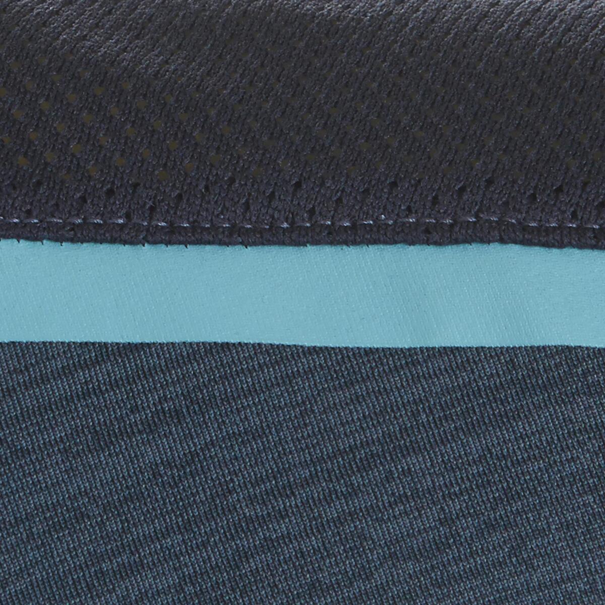 Bild 5 von T-Shirt Synthetik atmungsaktiv S500 Gym Kinder dunkelblau