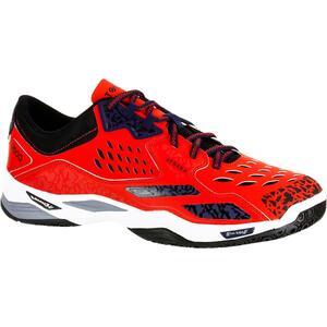 Handballschuhe H500 Erwachsene rot/blau