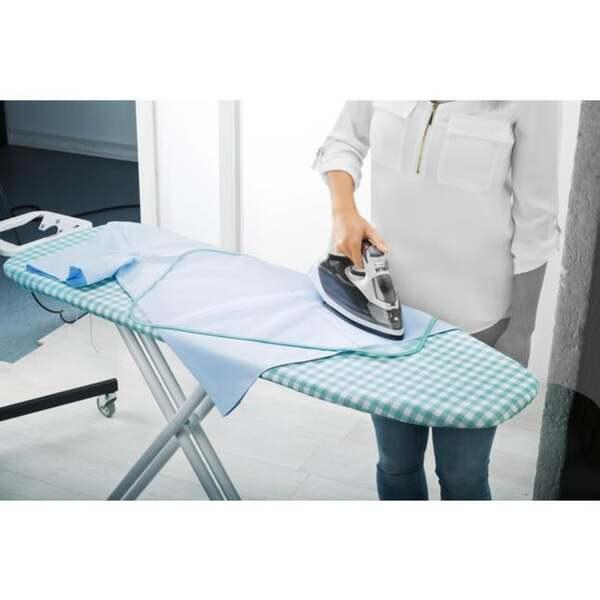 IDEENWELT Bügelbrettbezug mit Bügelschutztuch vichy