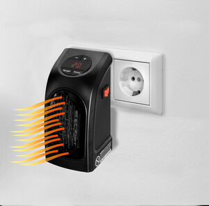 Mauk Mini-Steckdosenheizung - Kompakt-Heizung - Handy Heater