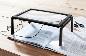 Kraft Werkzeuge 2in1 Tischlupe mit Standfüssen