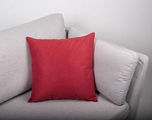 """Bella Casa Dekokissen """"Abby"""" ca. 45 x 45 cm, Rot - 2er Set"""
