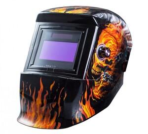 Kraft Werkzeuge Design-Automatik-Kopfschweißschild, Flamme