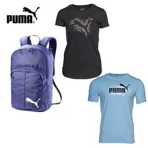 Damen- oder Herren-T-Shirt Puma oder Rucksack ab 2 Stück je