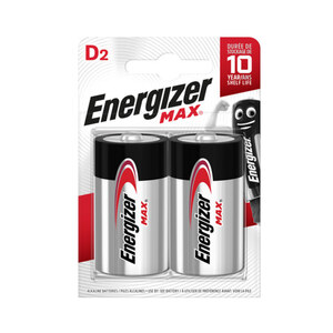 Energizer Max Mono D 2 Stück