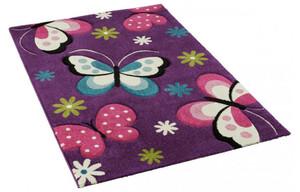 Teppich Diamond Kids ca. 160 x 230 cm lila (1)