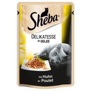 Sheba Delikatesse in Gelee mit Huhn 85g