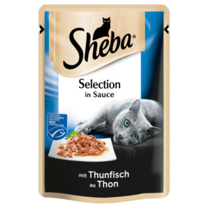 Sheba Selection in Sauce mit Thunfisch 85g