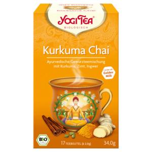 Yogi Tea Bio Kurkuma Chai 34g, 17 Beutel