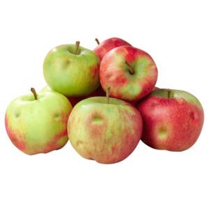 Wetteräpfel mit natürlichen Makeln