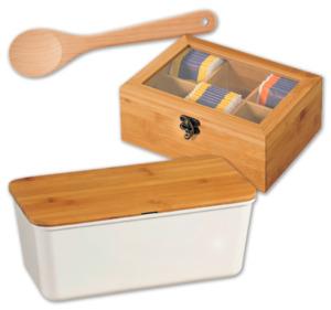 KESPER Kochlöffel, Teebox oder Brotbox