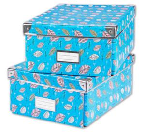 2er-Packung Boxen DIN A4