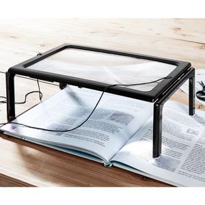 Kraft Werkzeuge LED-Tischlupe