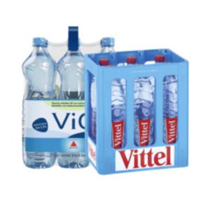 Vittel oder Vio Mineralwasser