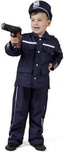 Kostüm - Polizist - für Kinder - 3-teilig - verschiedene Größen