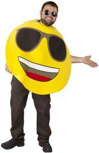 Emoticon Kostüm - Cool - für Erwachsene