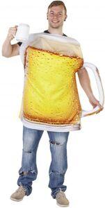Kostüm - Bierkrug - für Erwachsene