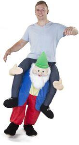 Huckepack-Kostüm - Zwerg - für Erwachsene