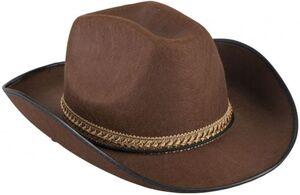 Cowboyhut - für Erwachsene - braun