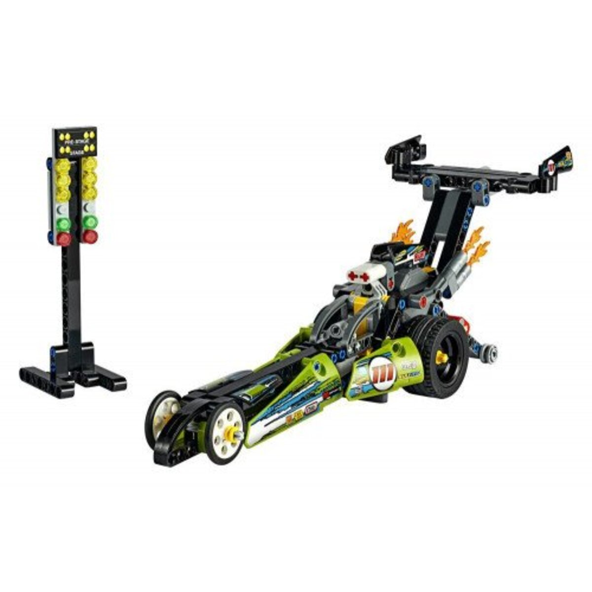 Bild 3 von LEGO Technic 42103 Dragster Rennauto