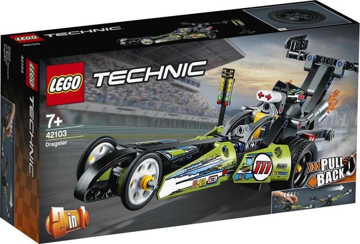 Bild 4 von LEGO Technic 42103 Dragster Rennauto