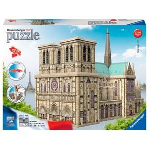 Ravensburger - 3D Puzzle: Notre Dame, 324 Teile