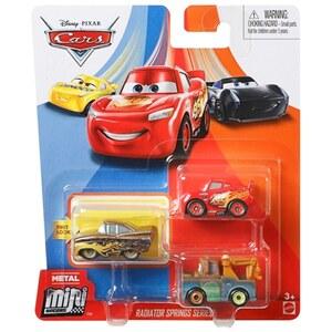 Disney Cars - Mini Racers, 3er Pack Radiator Springs