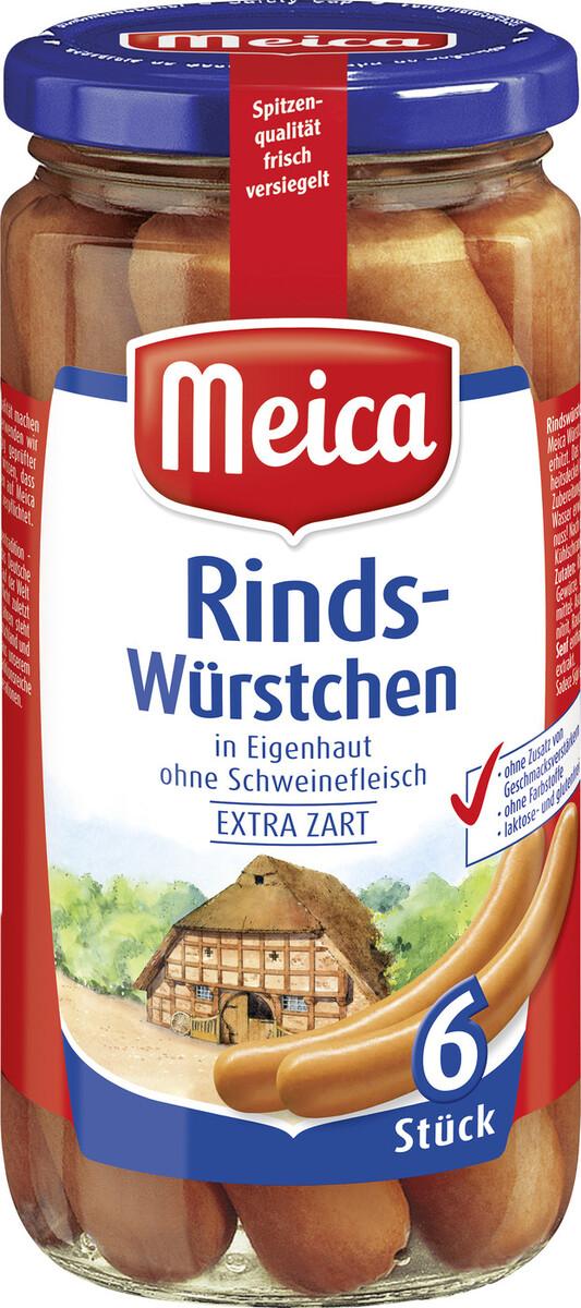 Bild 2 von Meica 6 Rindwürstchen 380 g