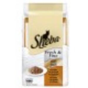 Sheba Fresh & Fine Geflügel Variation Katzenfutter nass Beutel 6x 50 g