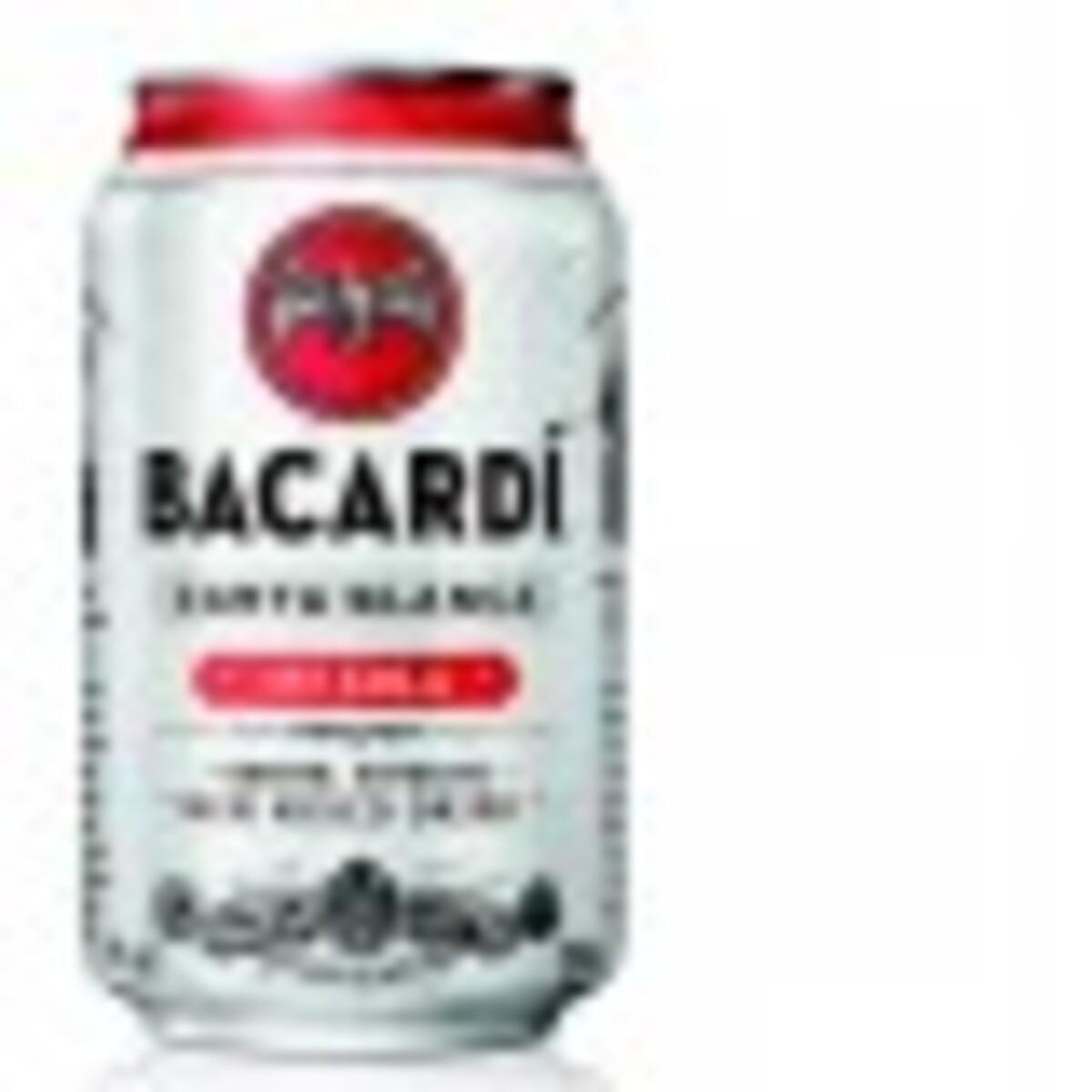 Bild 1 von Bacardi Carta Blanca & Cola 0,33 ltr