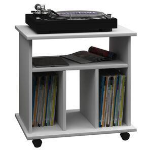 Schallplattenregal in Weiss ca. 60x59x45 cm 'Retal'