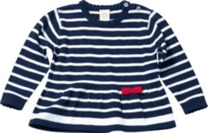 ALANA Kinder Pullover, Gr. 92, in Bio-Baumwolle, blau, weiß