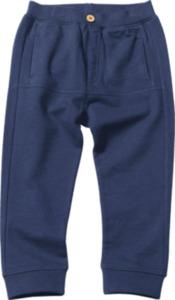 ALANA Kinder Sweathose, Gr. 98, in Bio-Baumwolle, blau
