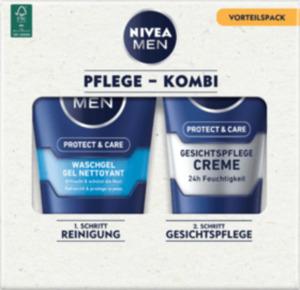 NIVEA MEN Protect&Care Pflege + Reinigung Set