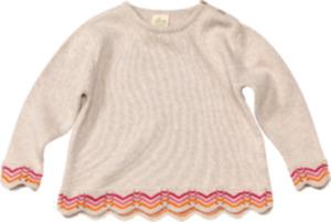 ALANA Kinder Pullover, Gr. 104, in Bio-Baumwolle, beige