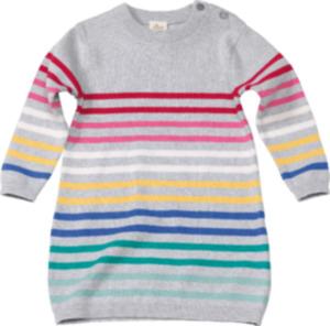 ALANA Kinder Kleid, Gr. 104, in Bio-Baumwolle, grau, bunt