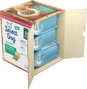 InsectDog Sensitive, Trockenfutter für Hunde, Adult, Multipack