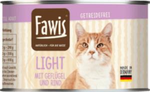 Fawis Nassfutter für Katzen, Adult, Light