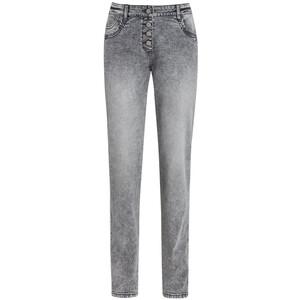 Damen Boyfriend-Jeans mit Knopfleiste