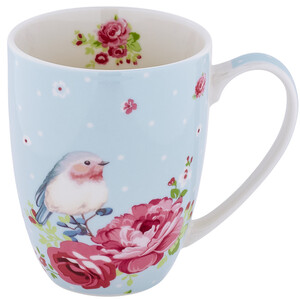 Tasse mit Vogel-Motiv