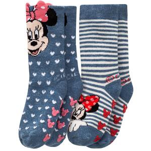 2 Paar Minnie Maus Stoppersocken im Set