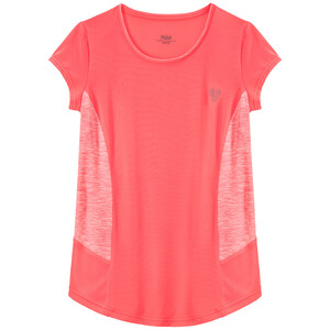 Mädchen Sport-T-Shirt mit Mesheinsätzen