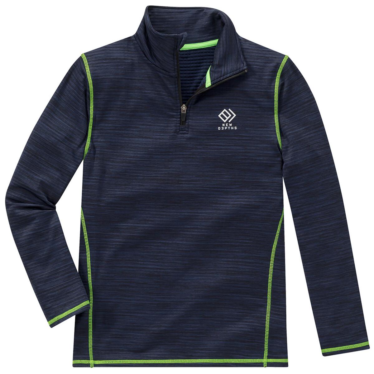 Bild 1 von Jungen Sport-Shirt mit Troyerkragen