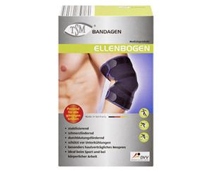 TSM®  Bandagen, Ellenbogen, Oberschenkel, Knie oder Wade