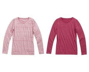 blue motion 2 Langarm-Basic-Shirts