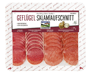 LANDHOF Geflügel Salamiaufschnitt