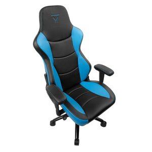 MEDION ERAZER® X89018 Gaming Chair, Stilvoll und komfortabel, Sportliche Optik und hochwertige Materialien, Mit 2 Kissen für den Rücken- und Kopfbereich