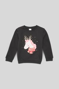 Sweatshirt - Glanz Effekt