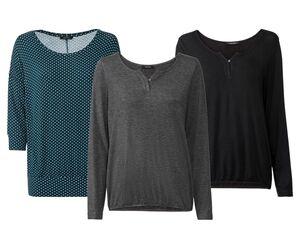 ESMARA® Shirt Damen, mit Viskose und Elasthan
